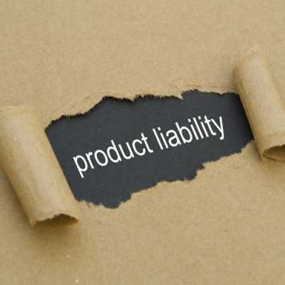 Removing the wrapper of a book-related to product liability laws